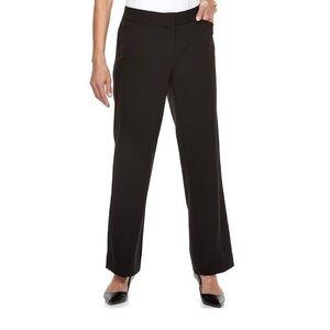 Dana Buchman Black Dress Pants